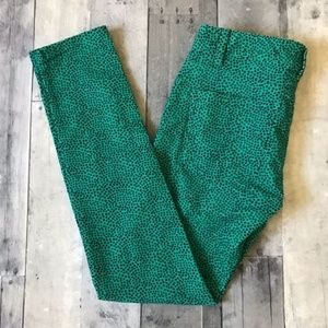 Vineyard Vines Camden Green Dot Print Cords - 527